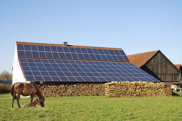 Energía fotovoltaica para una granja