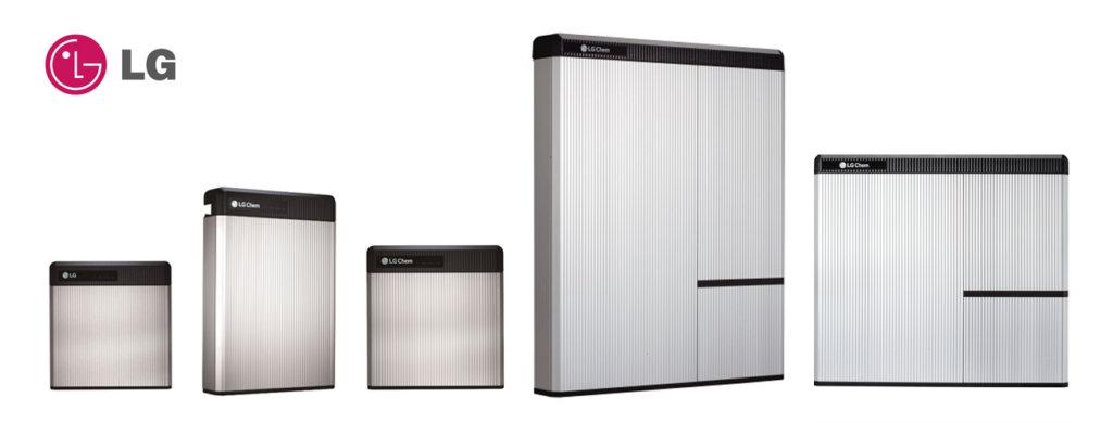 Baterias de almacenamiento solar LG