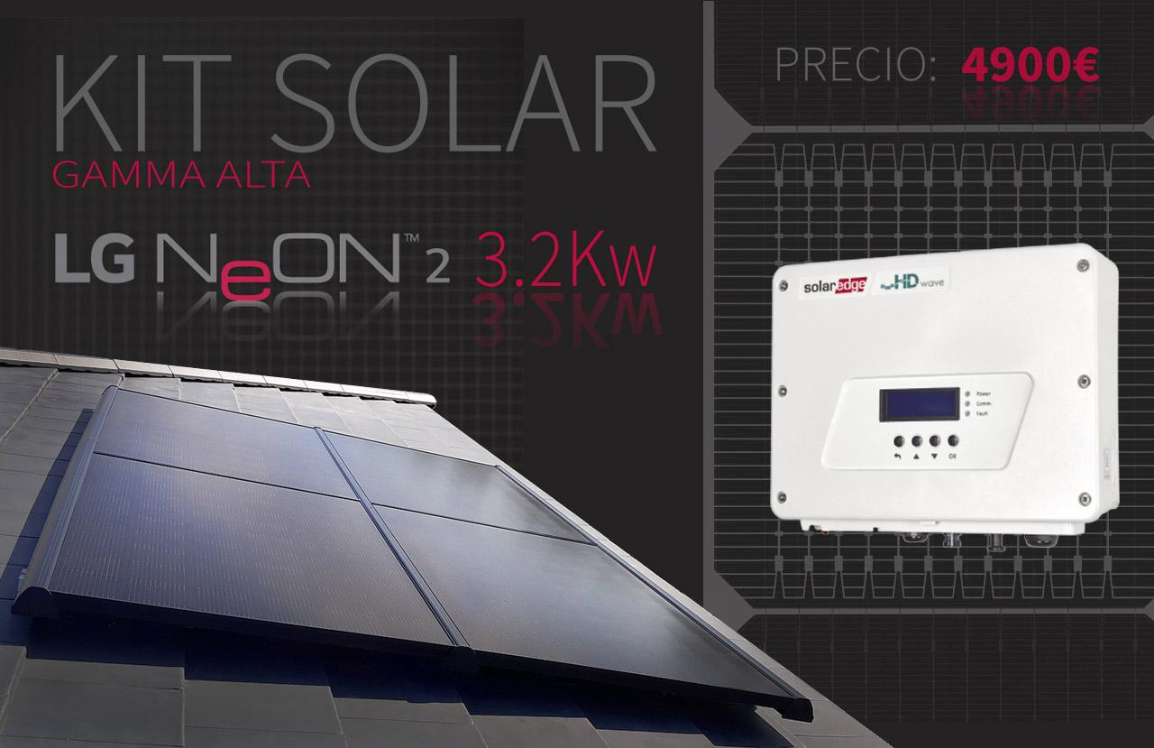 kit solar de GAMMA ALTA