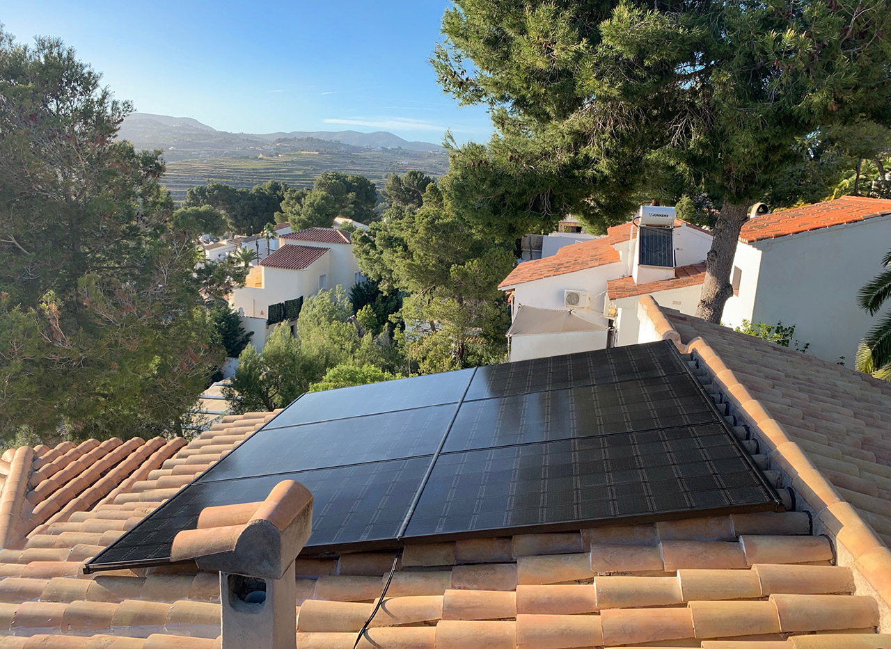 installation of solar panels in Alicante