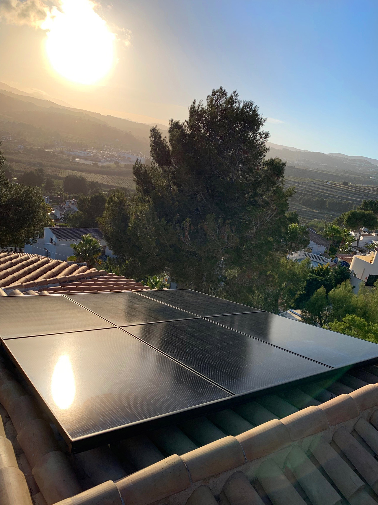 solar plant installation of electrogratis