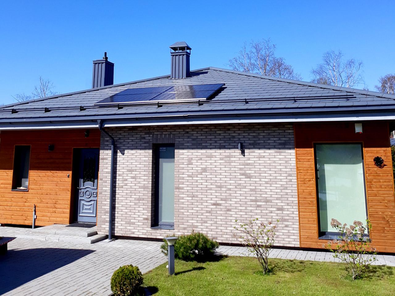 instalation of solar paneles