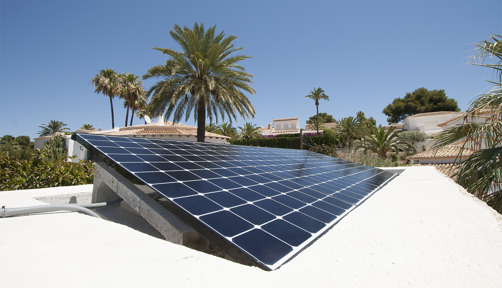 the best solar panels instalation in Moraira