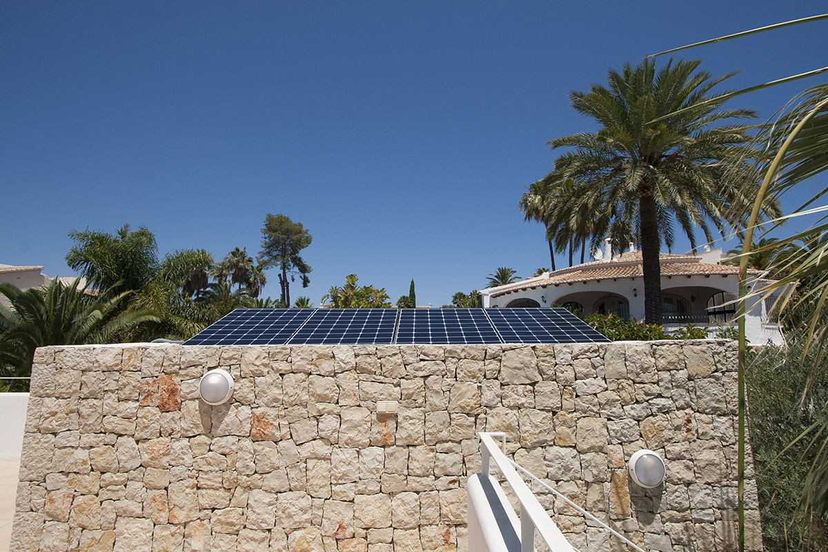 instalaciones fotovoltaicas en Moraira, Alicante, Valencia