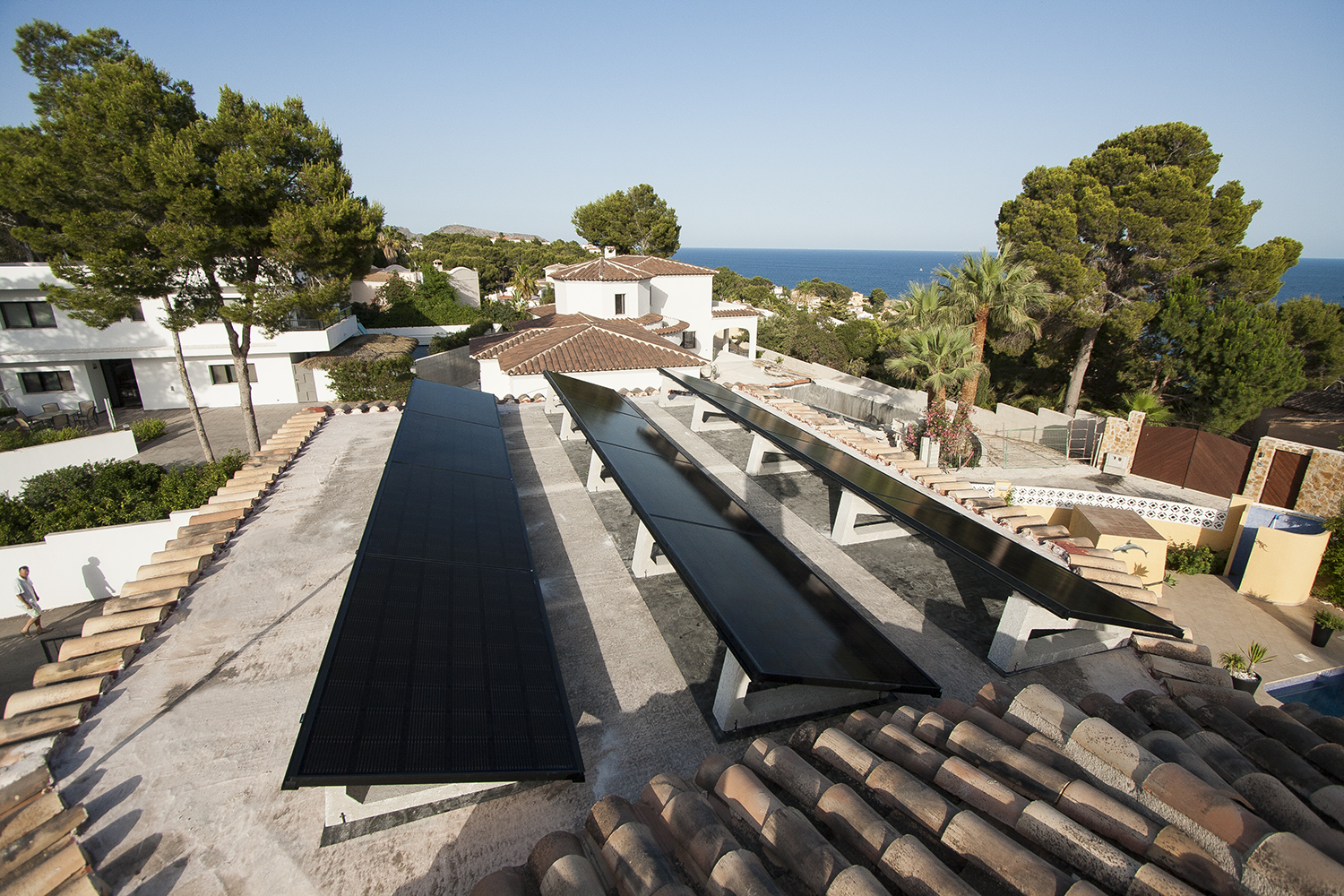 installation of solar panels calpe