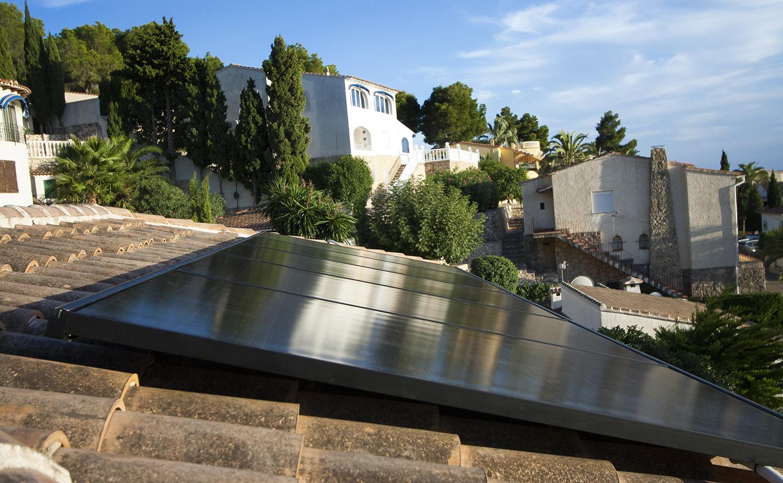 installation of solar plant in Teualda
